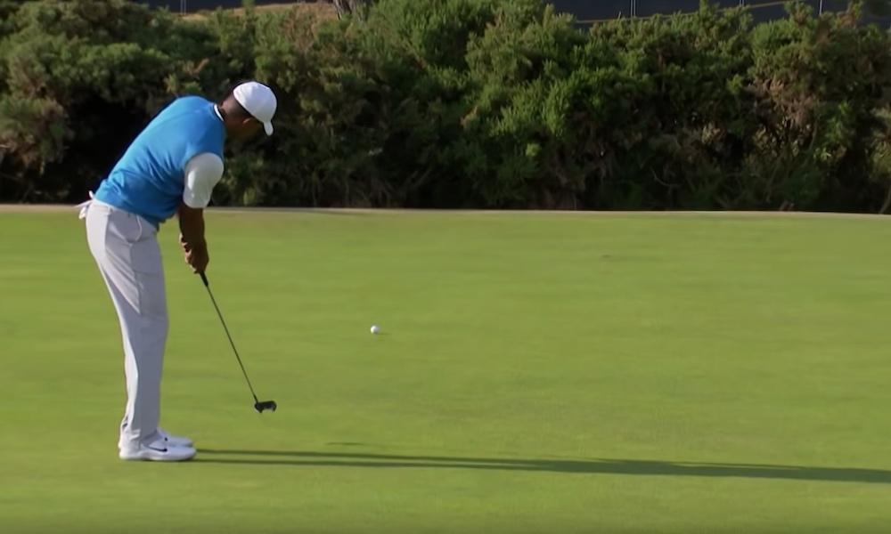 Tiger Woods palasi huipulle, sillä hän pelasi tämän vuoden The Openissa kovimman major-tason kierroksen seitsemään vuoteen.