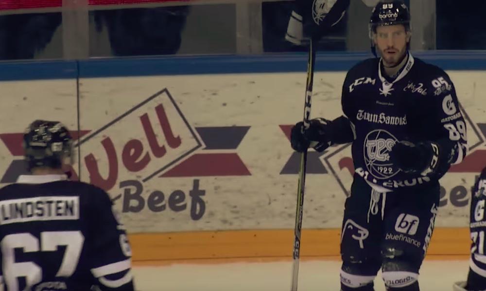 TPS:n Oula Palveen kova vire jatkui hattutempulla.