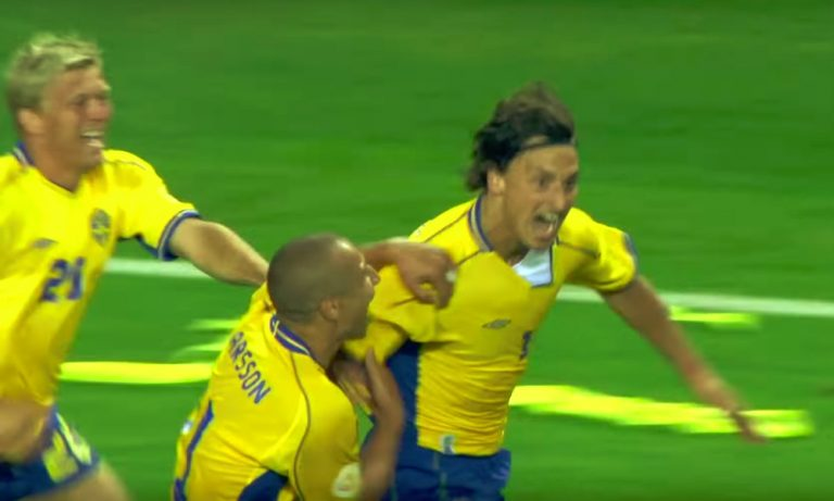 Zlatan trollasi Henrik Larssonia - vieläpä tämän syntymäpäivänä.