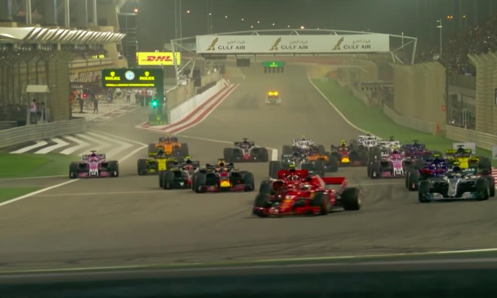 Charles Leclerc menetti ylivoimaisen voiton Bahrainissa teknisten ongelmien vuoksi ja putosi kolmanneksi.