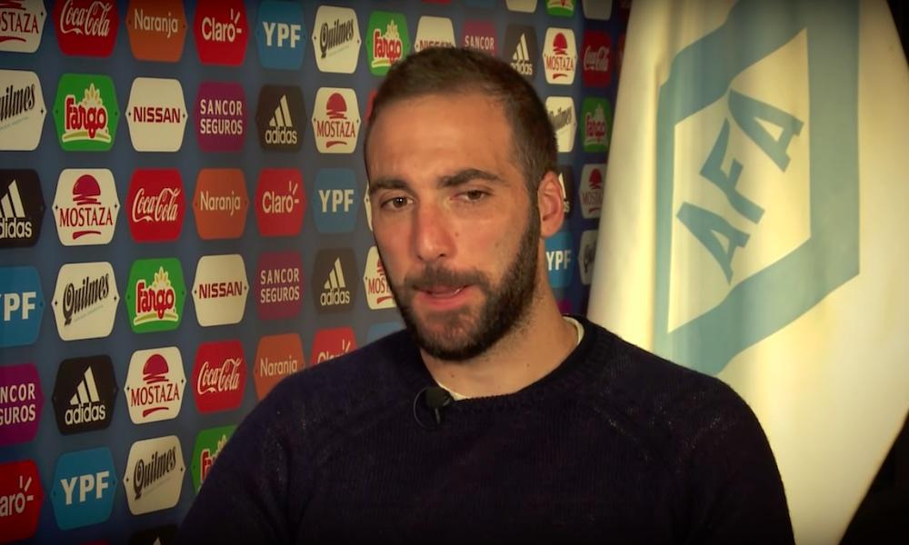 Gonzalo Higuain jättää maajoukkueen: hän pelasi Argentiinan paidassa 75 ottelua ja teki 31 maalia.