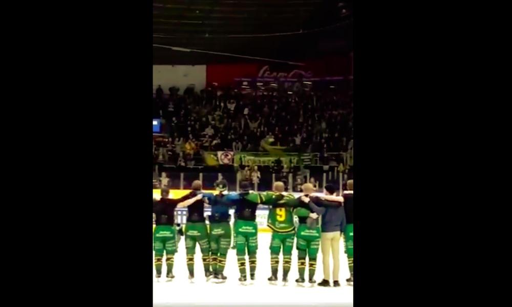 Ilves-faneilta huikea ele pelaajille, kun kausi päättyi puolivälierissä Oulun Kärppiä vastaan.