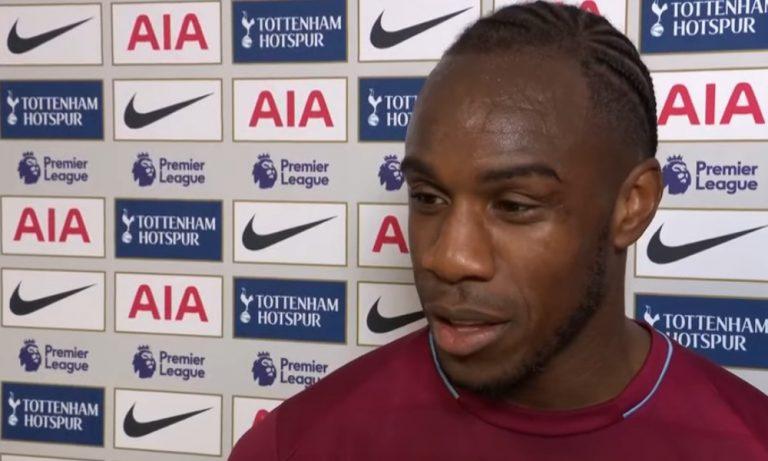 Michail Antoniolta nähtiin erikoinen tuuletus Tottenhamia vastaan.