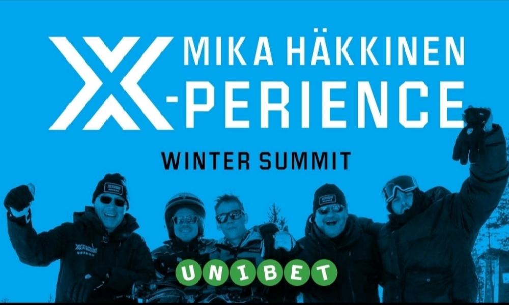 Mika Häkkinen X-perience - Voita täydellinen elämyspaketti F1-kilpailuun.