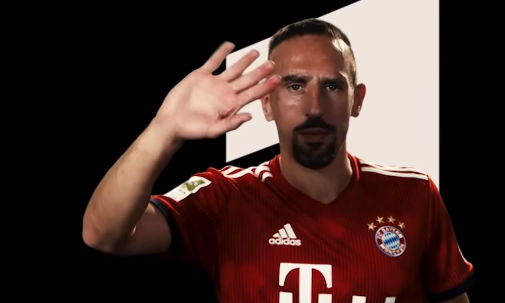 Franck Ribéry jättää Münchenin taakseen.