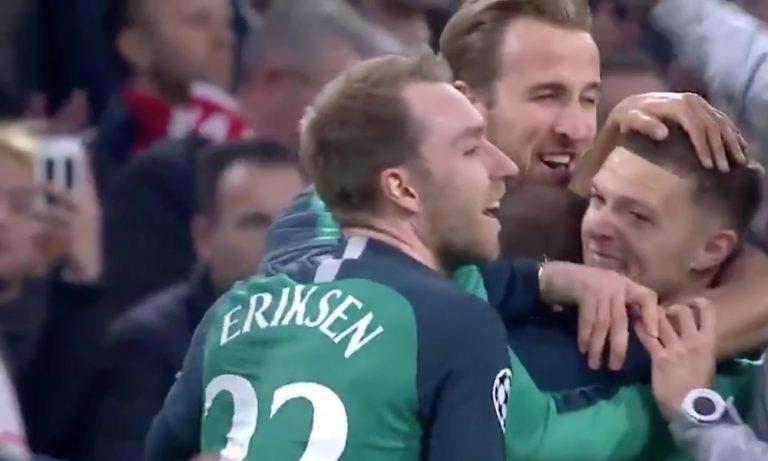 Tottenhamilta sensaatiomainen nousu Mestarien liigan välierissä. Spurs nousi kahden maalin takaa ohi ja voitti Ajaxin lukemin 3-2.