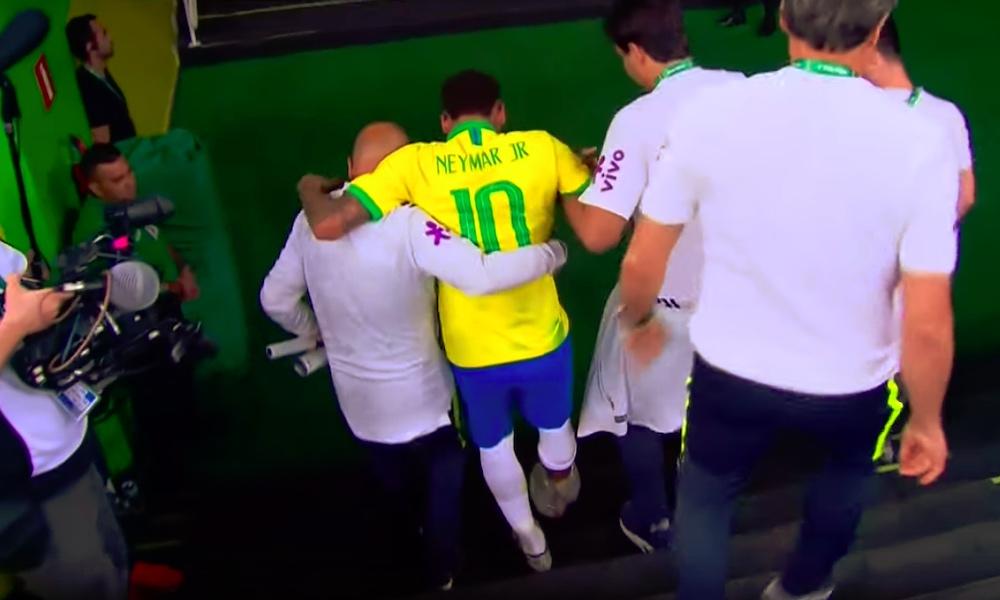 Neymar ei pysty pelata Copa Americassa Qataria vastaan pelatussa ottelussa tulleen nilkkavamman vuoksi.