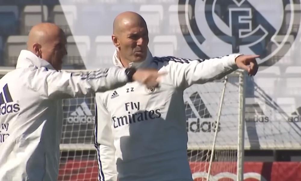 Zinedine Zinadelta nähtiin uskomaton osuma näytösottelussa. Real Madridin perämiseen palannut ranskalainen näytti osaamistaan.