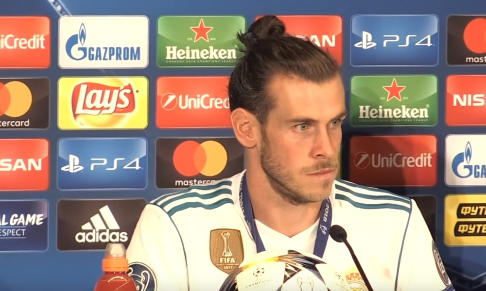 Gareth Balelle mielipuolinen tarjous Kiinasta.