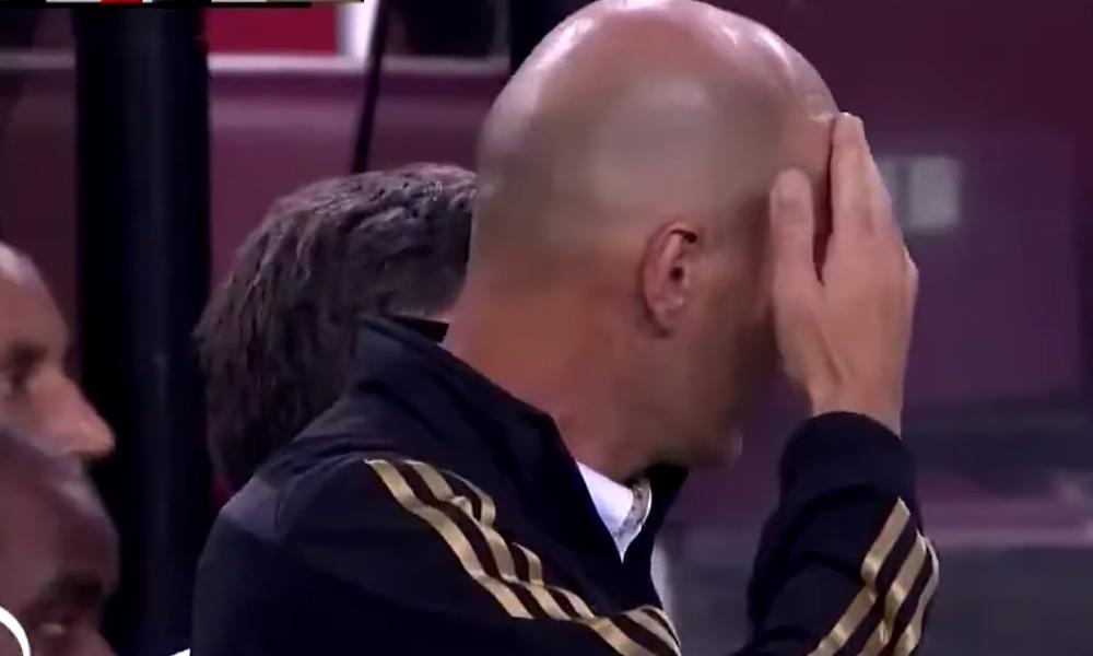 Marco Asensio loukkaantui ystävyysottelussa. Real Madridin valmentaja Zinedine Zidane ei pystynyt katsomaan, miten pahasti pelaajalleen tilanteessa kävi.