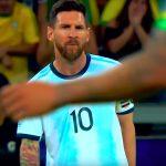 Lionel Messille kolmen kuukauden pelikielto hänen Copa American aikana antamien kommenttien johdosta.