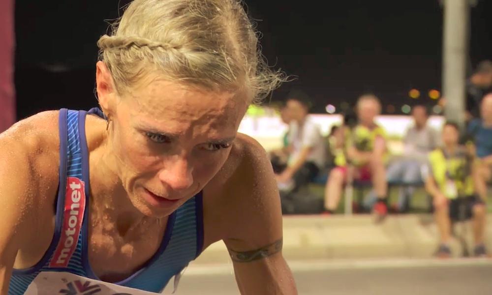 Anne-Mari Hyryläinen upeasti MM-maratonin 19:s ja eurooppalaisittain viidenneksi paras Dohan todella vaativissa olosuhteissa.