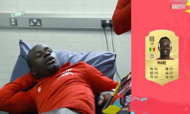 VIDEO: Liverpoolin pelaajat reagoivat pelaajakortteihin - mukana tähdet   Urheiluvedot.com