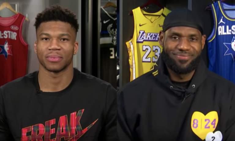 Giannis ja LeBron valitsivat omat tähdistöjoukkueensa NBA:n All Star -viikonloppuun niin sanotussa NBA All Star Draftissa.