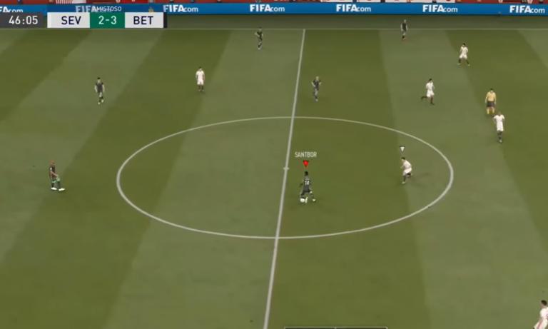 VIDEO: Sevillan ja Real Betiksen välinen derby pelattiin FIFAssa
