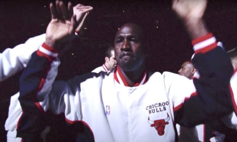 Michael Jordan oli salamannopea, mistä kertoo hänen uskomaton vetonsa 40 jaardin matkalla.