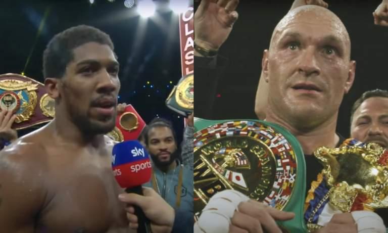 Tyson Fury ja Anthony Joshua iskevät yhteen kahdesti seuraavien 18 kuukauden aikana.