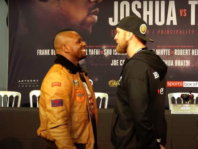 Dillian Whyte estää Fury-Joshua-ottelun? Hänelle on luvattu ottelu Tyson Furya vastaan helmikuuhun 2021 mennessä.