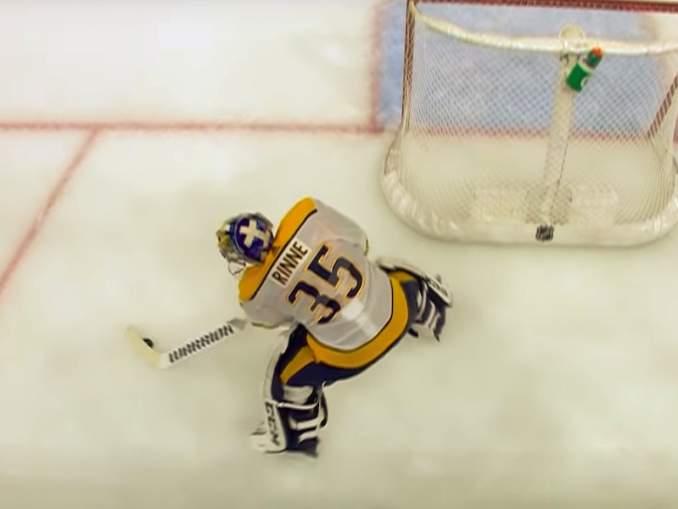 Pekka Rinteen maali valittiin NHL:n hienoimmaksi fanien toimesta: eroa toiseksi sijoittuneeseen Connor McDavidiin oli lähes 20 prosenttia äänisaaliin osalta.