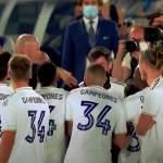 Zinedine Zidanen ja Gareth Balen jäätävistä väleistä saatiin jälleen yksi esimerkki - tällä kertaa Real Madridin juhliessa La Ligan mestaruutta.