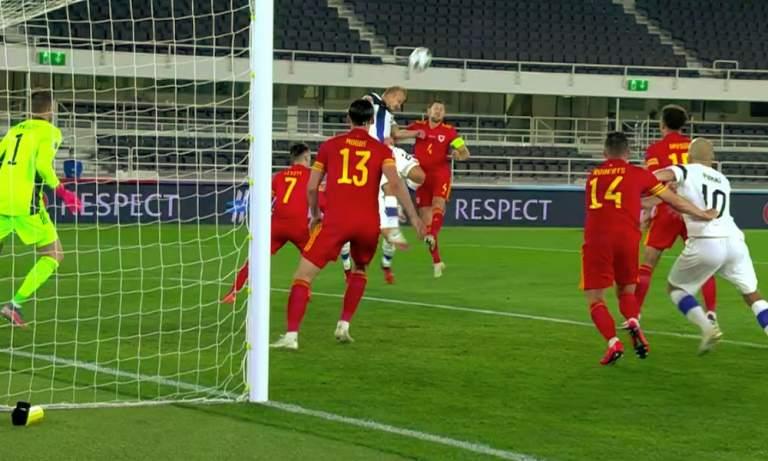 Huuhkajille harmillinen tappio Nations Leaguen ottelussa Walesia vastaan.
