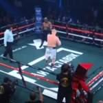 Jos Sergei Kharitonov uransa ensimmäisestä ammattilaisnyrkkeilyottelusta ei jäänyt mitään muuta mieleen, niin ainakin sisääntulo nyrkkeilykehään oli hurja.