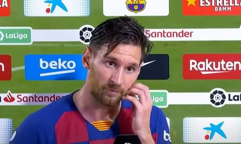 KUVA: Barcelona käyttää Messiä edelleen keulakuvana - kiusantekoa?