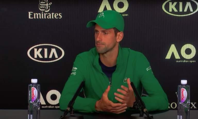 US Openissa diskattu Djokovic ei selvästikään ottanut opikseen viime turnauksessa tehneestä todella ala-arvoisesta tempusta.