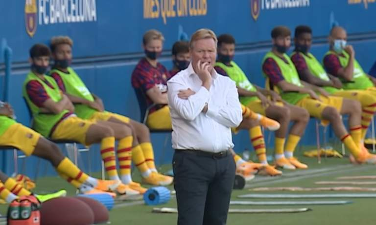 Ronald Koeman ei voi ottaa Barcelonaa haltuun La Ligassa, vielä?!