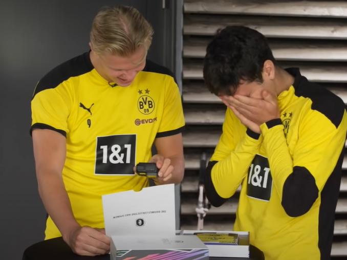 Dortmundin pelaajien reaktio FIFA-arvoihin   Urheiluvedot.com