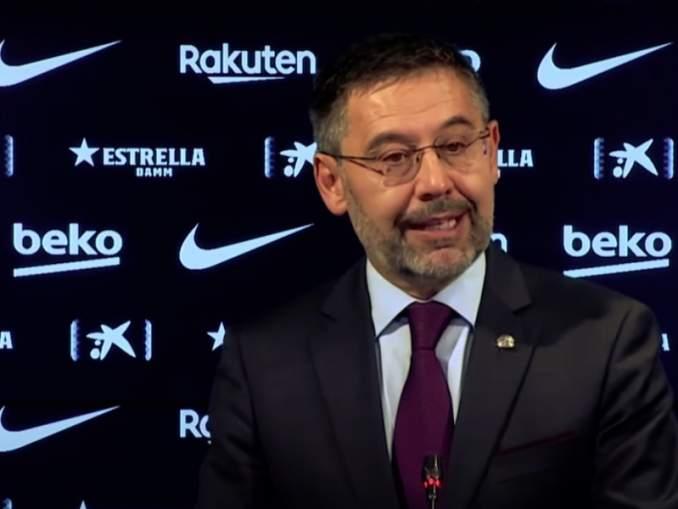 Barcelonan presidentti sai vihdoin kenkää, mutta hän ei poistunut takavasemmalle ilman uutispommia Europan Super Leaguesta.