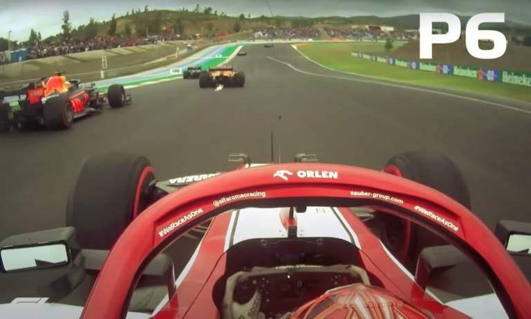 Kimi Räikkönen esitti kenties F1-historian upeimman yksittäisen kierroksen Portugalin GP:ssä.