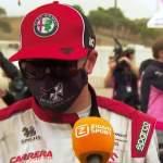 Kimi vitsaili haastattelussa kiroilleelle toimittajalle iästään Portugalin GP:n jälkeen.
