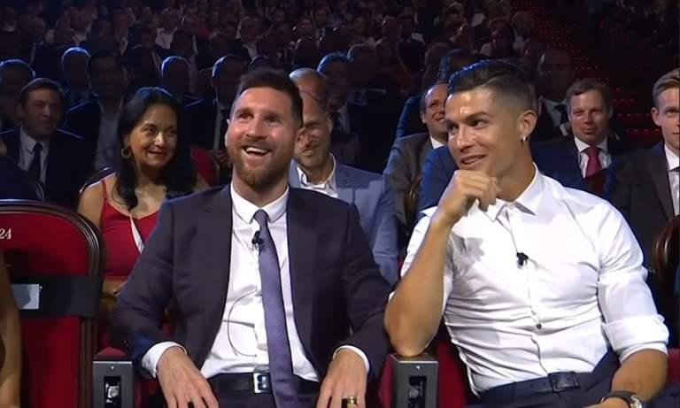 Lionel Messi lähetti terveiset Cristiano Ronaldolle, jolla on tiettävästi edelleen koronavirus.