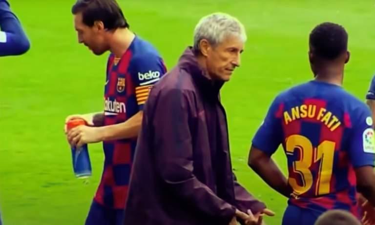 Quique Setien näytti Lionel Messille ovea, kun argentiinalainen kyseenalaisti Mundo Deportivon mukaan valmentajansa ja tämän taktiikat.