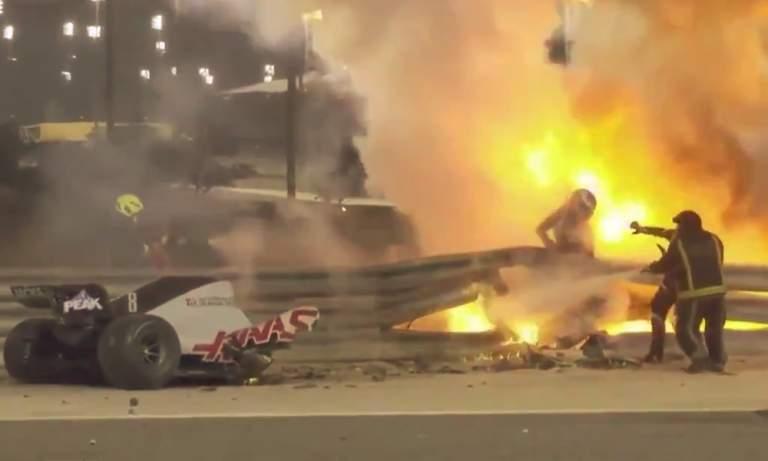 Romain Grosjeanin onnettomuus oli jälleen raju muistutus siitä, miten vaarallinen sarja F1 on.