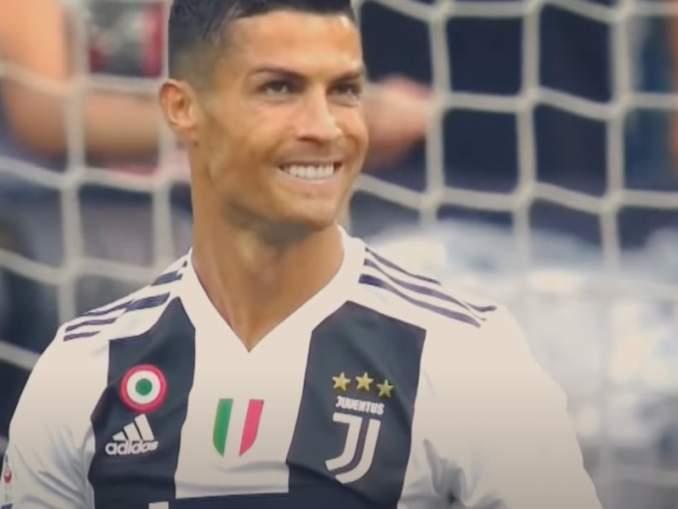 Aivan kuin koulu-peleistä - Ronaldo yritti maalia aloituksesta.