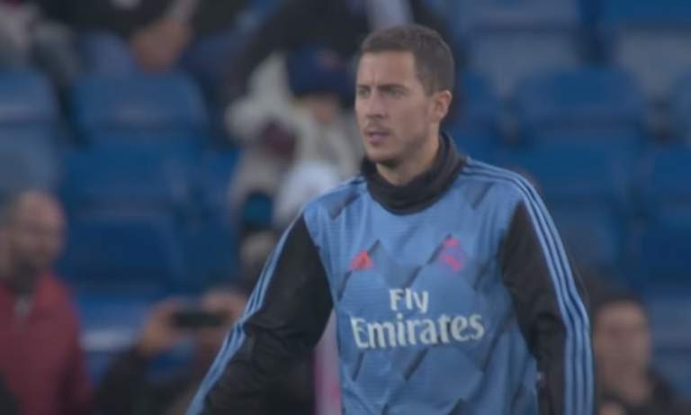Eden Hazard palasi harjoituksiin todella tyylikkäällä rabonalla.