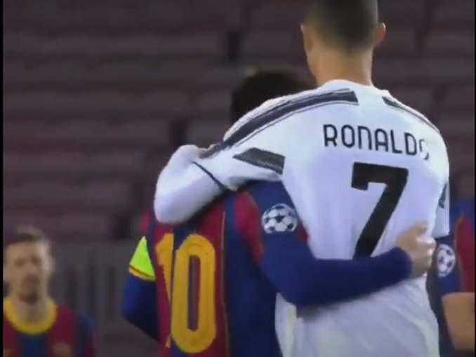Cristiano Ronaldon siskolta todella raaka trolli Lionel Messille.