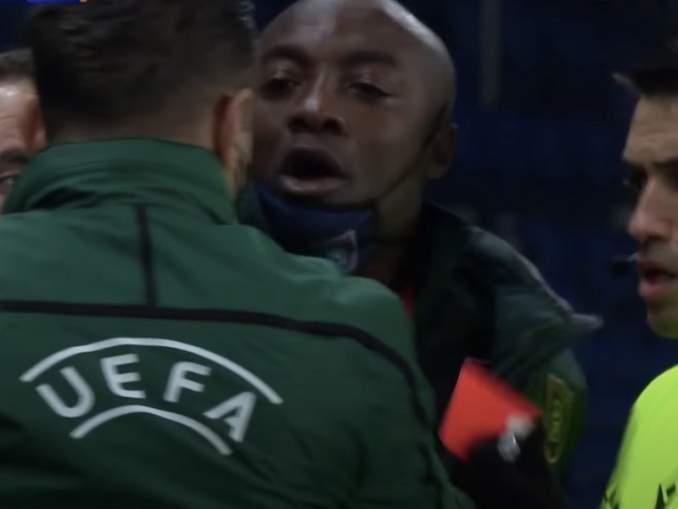 PSG-Basaksehir-ottelu keskeytettiin: ottelun neljäs erotuomari käyttäytyi rasistisesti?