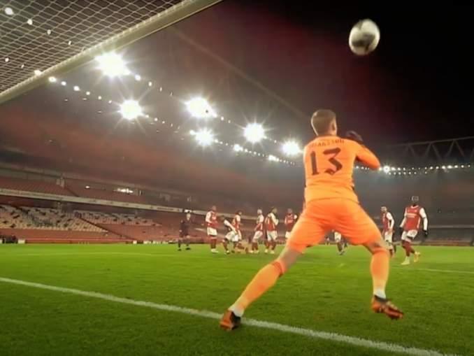 Arsenalin islantilaisvahdilta karmivin imaisu ammattilaiskentillä? Ratkaisi voiton Manchester Citylle.