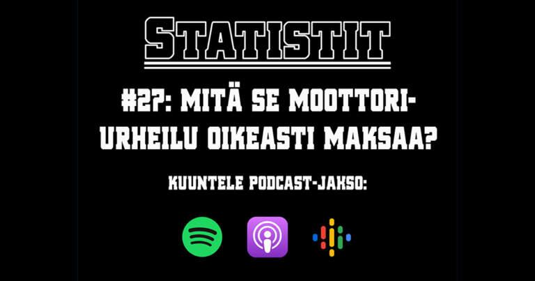 Statistit podcast Lassi Halminen