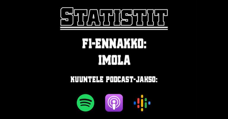 Statistit podcast 29 Imola