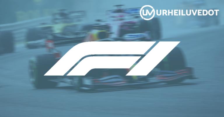 Formula 1 vihjekuva urheiluvedot