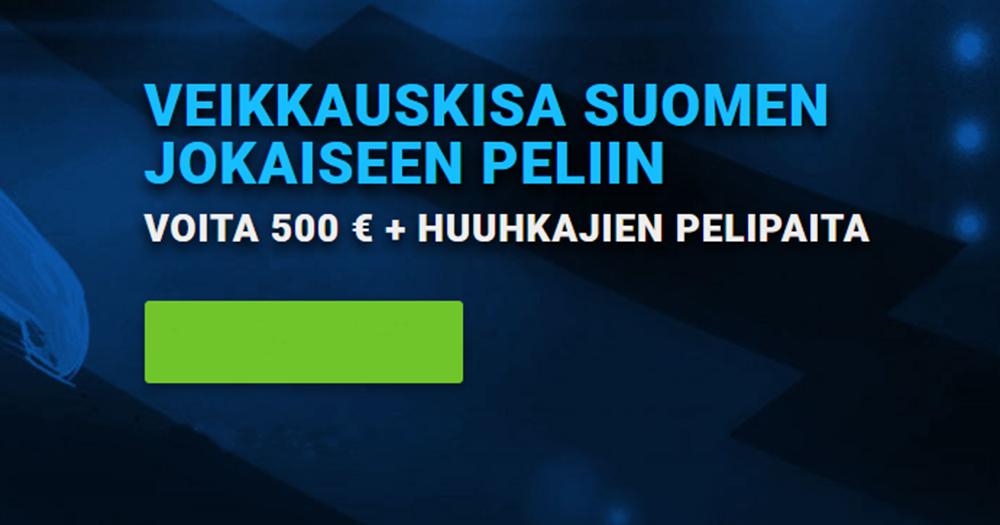 Huuhkajien EM-kisat käynnistyvät lauantaina ja nyt käynnistyy kisa jokaiseen Suomen peliin liittyen!